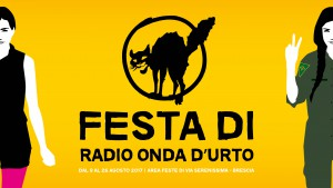 live @ Festa Radio Onda d'Urto 2017 – 24 agosto