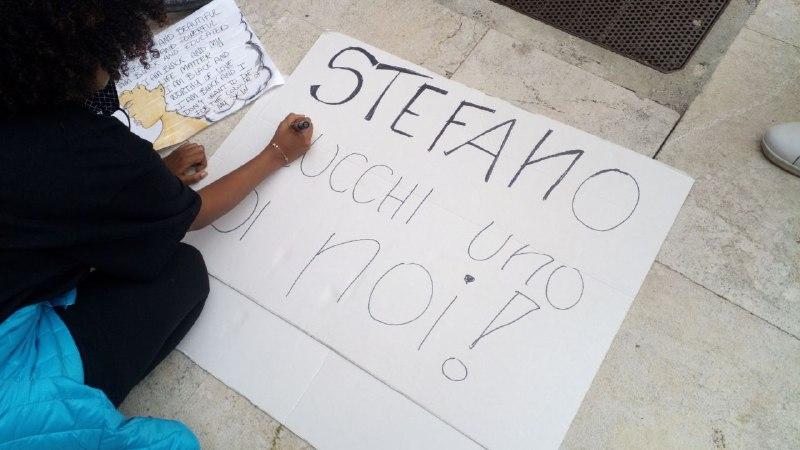 WE CAN'T BREATHE intervento di Siham per Mag47 e DirittiPerTutti