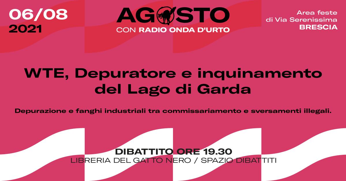 WTE, depuratore e inquinamento de Lago di Garda