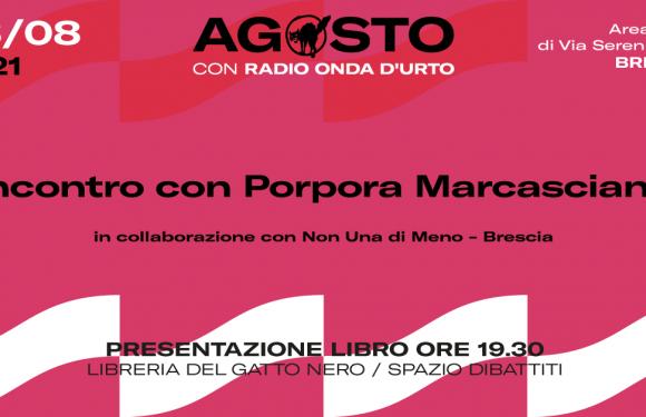 Incontro con Porpora Marcasciano